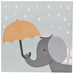 FORM Living Poster with Frame Elephant