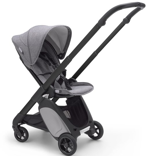 Bugaboo Ant Stroller Grey Melange Styled By You Black