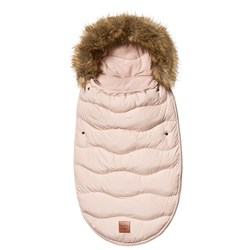 Buddy & Hope Faux Fur Footmuff Solid Pink