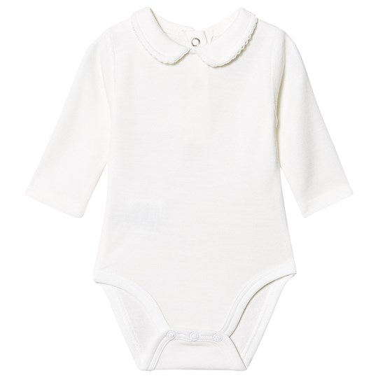 Hust&Claire Beate Baby Body Off White 白色