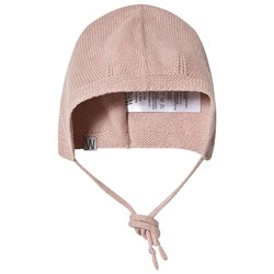 Wheat Knitted Baby Hat Rose Powder