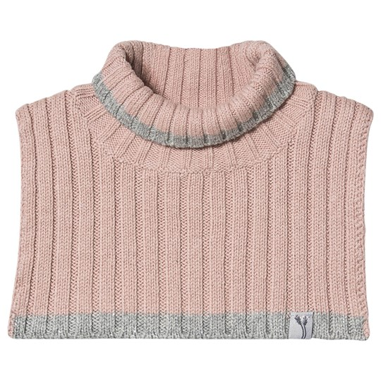 Wheat Knitted Neck Warmer Rose Powder Rose Powder