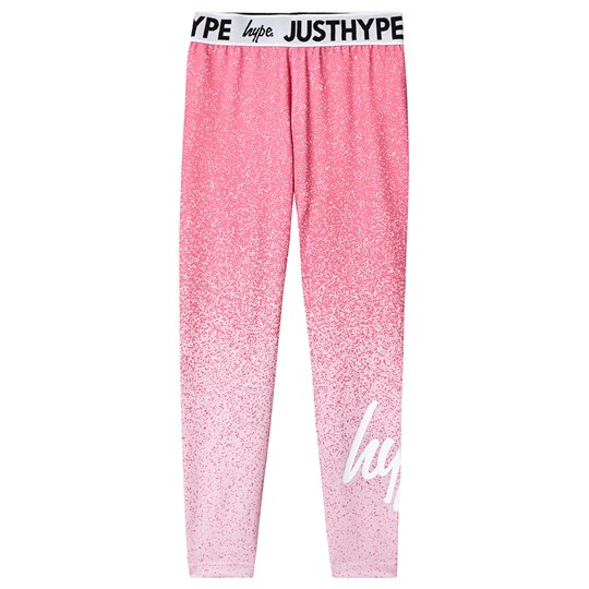Hype Speckle Fade Leggings Pink Pink