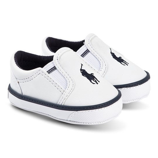 Ralph Lauren Slip-On Crib Sko Hvid White