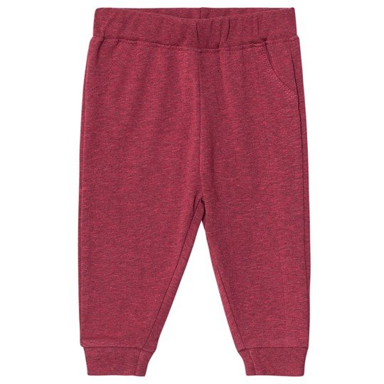 ebbe Kids Idris Pants Cherry Red Melange Cherry Red Melange