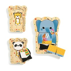 Djeco Lucky & Co Wooden Puzzle