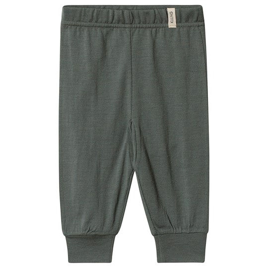 Kuling Wool Baby Pants Green