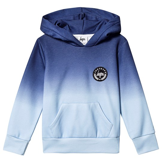 Hype Fade Hoodie Blue Blue