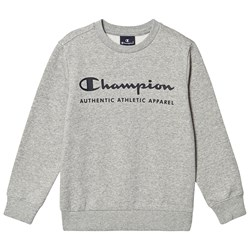Champion Branded Fleece Sweater Grey