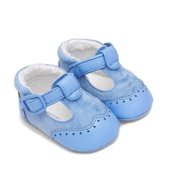 Mayoral Velcro Buckle Crib Shoes Blue 68