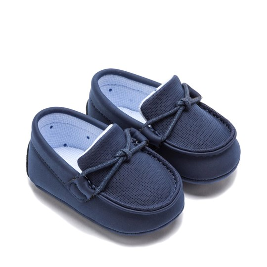 Mayoral Moccasin Crib Shoes Navy 48