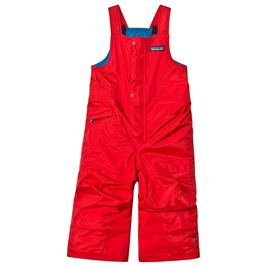 Patagonia Baby Snow Overalls Red FRE
