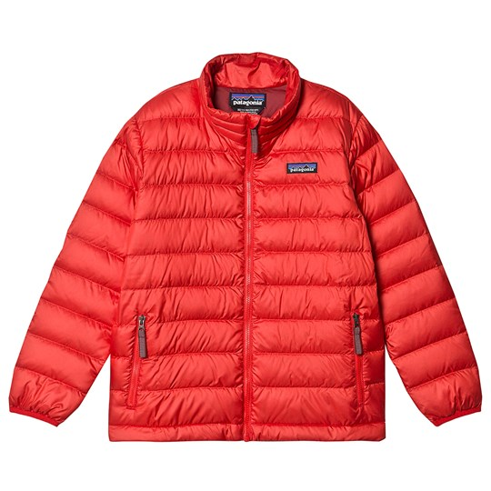 Patagonia Down Jacket Red FROD