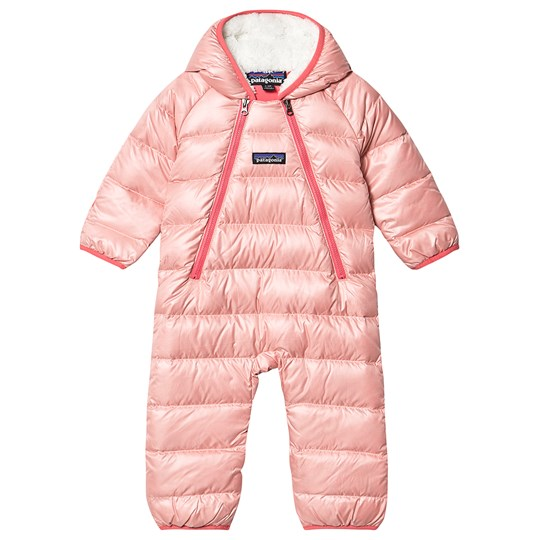 Patagonia Infants Hi-loft Down Bunting Coverall Pink ROSP