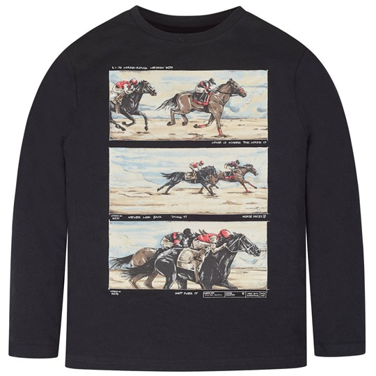 Mayoral Horse Racing Tee Black 21