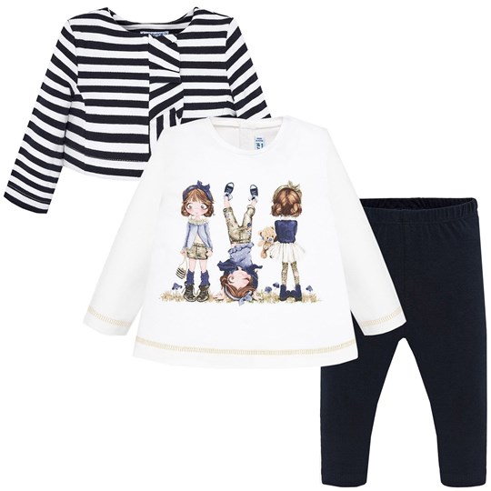 Mayoral Graphic Layette Set Navy 19
