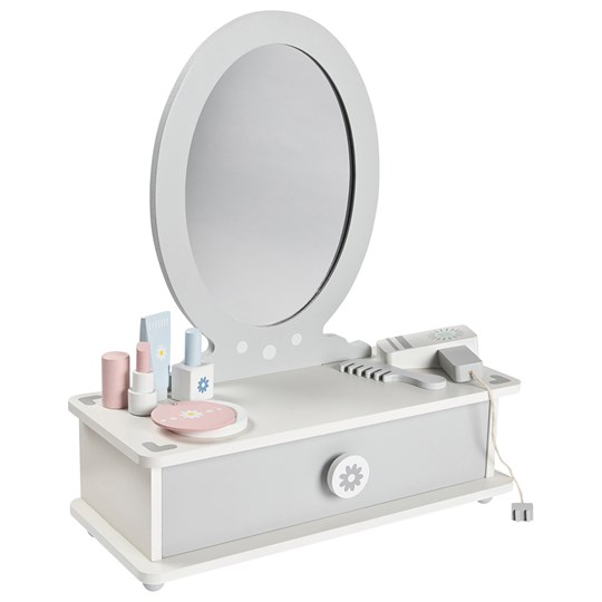 STOY Dressing Table White and Grey