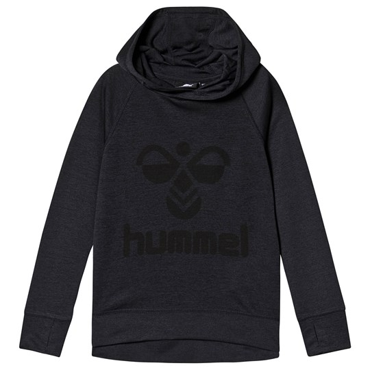 Hummel Harald Hoodie Graphite and Black GRAPHITE/BLACK