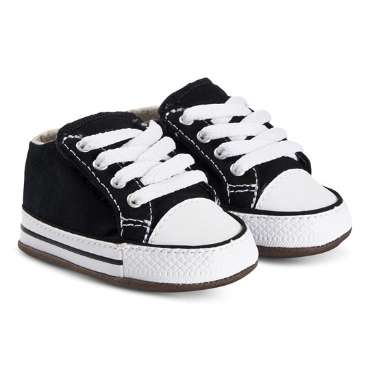 Converse Chuck Taylor Crib Shoes Black BLACK/NATURAL IVORY/WHITE