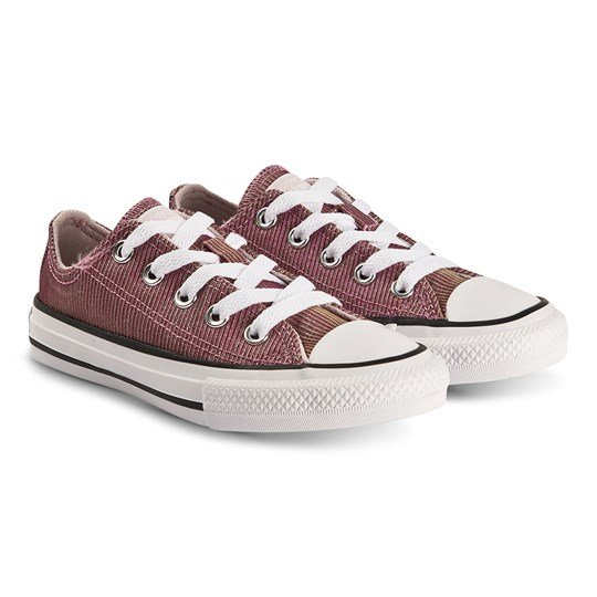 Converse Iridescent Chuck Taylor Sneakers Pink Space BARELY ROSE/SILVER/WHITE