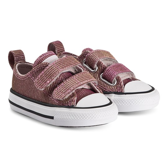 Converse Iridescent Chuck Taylor Kardborre Sneakers Pink Space BARELY ROSE/SILVER/WHITE