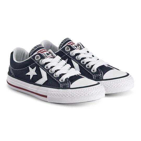 Converse Star Player Sneakers Marinblå Navy/White
