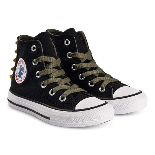 Converse Dinos Chuck Taylor Hi Top Sneakers Svart BLACK/FIELD SURPLUS/WHITE