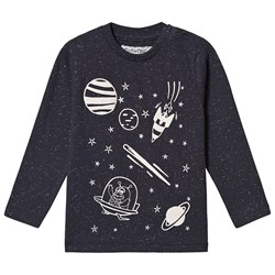 Minymo Planet T-shirt Outer Space