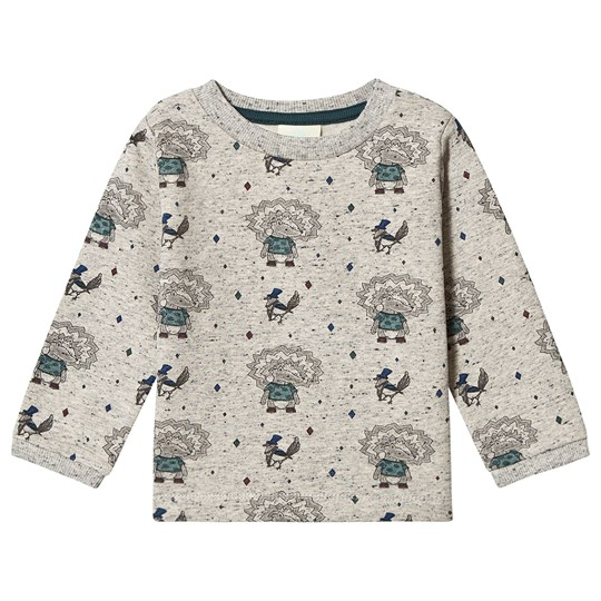 EnFant Rainy Day Tee Grey Melange RAINY DAY