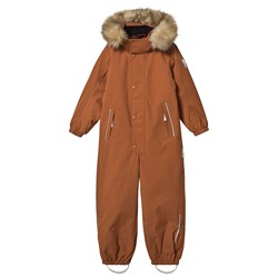 Reima Reimatec® Stavanger Snowsuit Cinnamon Brown