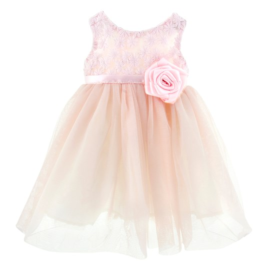 MissMiniMe Doll Dress Pink Dream Pink
