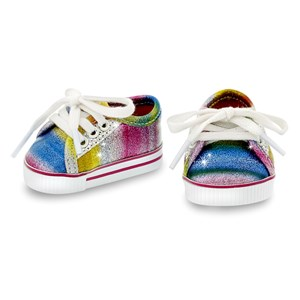 Image of MissMiniMe Rainbow Dukke Sneakers 4 - 12 years (1480858)