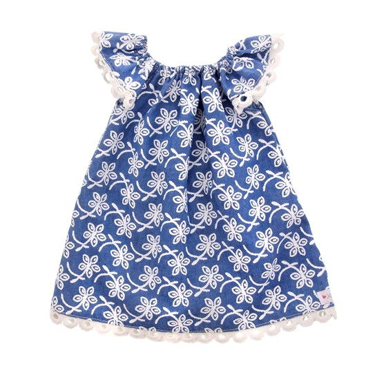MissMiniMe Summer Doll Dress Blue