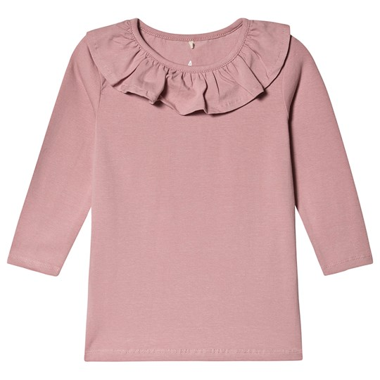 A Happy Brand Flounce Top Rose
