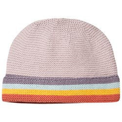 Frugi Harlow Knitted Hat Soft Rainbow