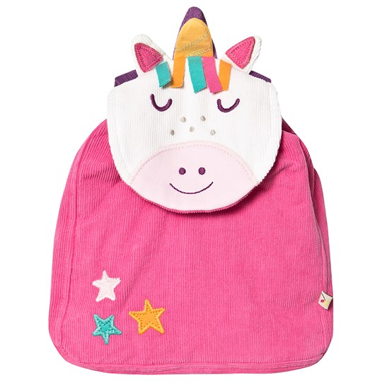 Frugi Playtime Character Backpack Unicorn Red
