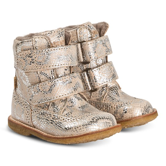 Bisgaard Elba Boots Silver Snake Silver Snake
