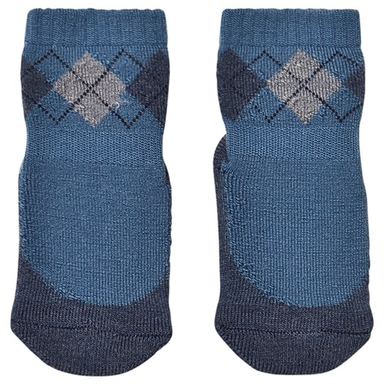 MP Argyle Non-Slip Socks Denim Blue Denim Blue