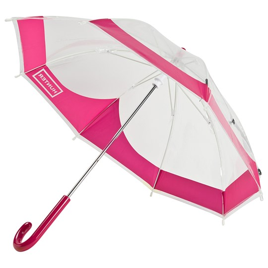 Hunter Bright Pink Original Kids Moustache Bubble Umbrella BRIGHT PINK