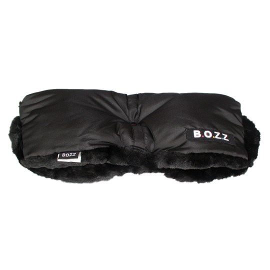 BOZZ Fleece Handmuffar Svart Black