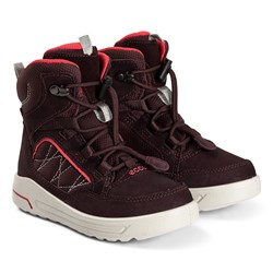 ECCO Urban Snowboarder Boots Fig and Teaberry