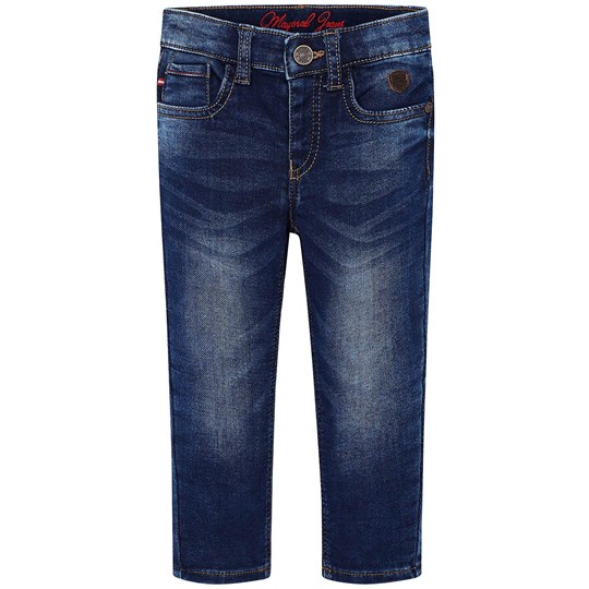 Mayoral Mid Wash Jersey Slim Fit Jeans 52