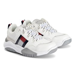 Tommy Hilfiger Chunky Flag Sneakers White
