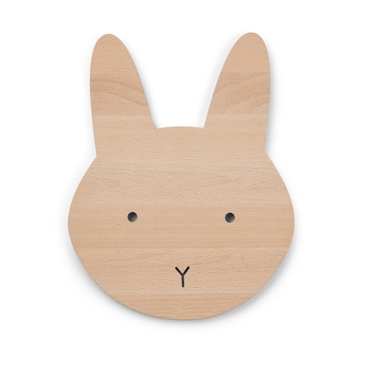 Liewood Troy Wooden Lamp Rabbit Wood
