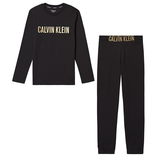 Calvin Klein Pajamas Black and Gold BEH