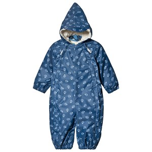 Image of Muddy Puddles Navy Ammonite Print 3 i 1 Scamp All-in-Ski Sæt 18-24 months (1482656)