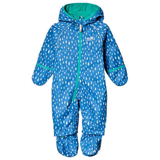 Muddy Puddles Ecosplash Coverall Blue Raindrop VICTORIA BLUE