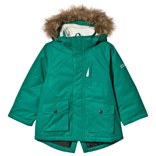 Muddy Puddles Explorer Parka Jacket Forest Green Green