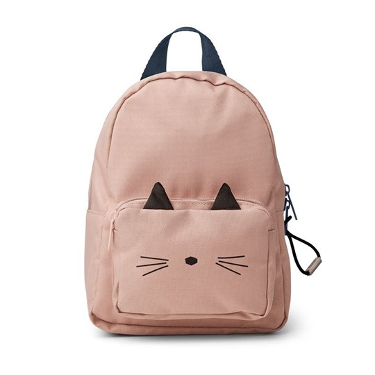 Liewood Saxo Mini Backpack Cat/Rose Cat Rose