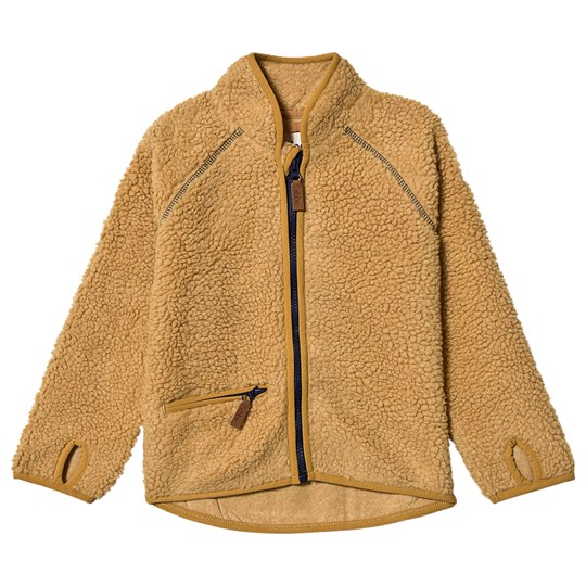 ebbe Kids Dale Terry Fleece Jacket Amber Gold Amber gold
